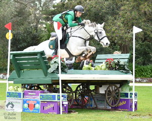 Ben Tyson and his 'Eequineaffair Casanova' posted a clear Off The track CCI2*-L cross country run and hold fourth place in the Off The track CCI2*-L cross country run.