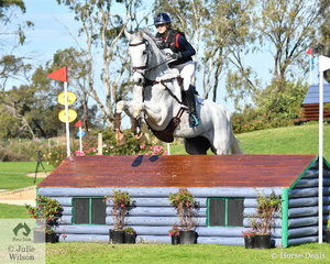 Zoe Hutchinson from NSW posted a good clear Off The Track CCI2*-L Junior  cross country run riding the ex Stuart Tinney mount, 'War Hawk'. They hold fifth place heading in to the final jumping phase tomorrow..