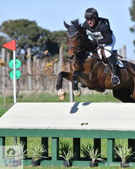 Time penalties saw NSW rider, Tim Boland slip just to second place after his Horseware Australia CCI3* cross country run riding, 'Menlo Park' by Eurocommerce Berlin.