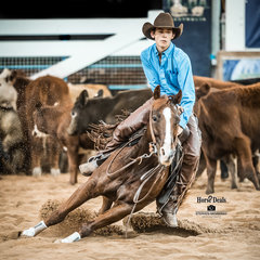 Ben Hinman and 'Darlea Dancin Chilli' score 201pts in the Final of the Senior Youth class