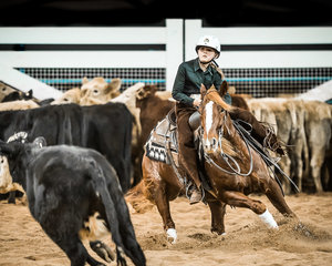 Oliva MacCallum and 'Get Hawky' score 215pts to be the Reserve Champions in the Junior Youth Final
