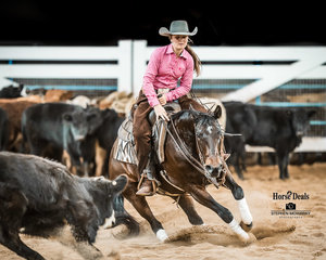 Macey Tanner and 'Peptos Angelique' in the Tim Mitchell Memorial Senior Youth Final