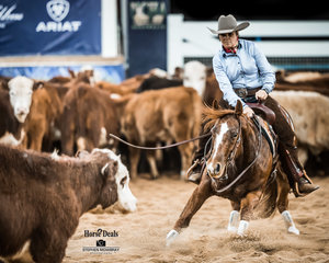 Leanne Moran and 'Dancin In The Street' in the final of the Non Pro Classic Challenge
