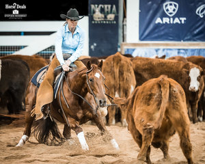 Susannah Randell and 'Spin N Metallic' place 6th in the final of the Non Pro Classic Challenge on a score of 212pts
