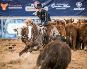 Emily Poole and 'Dulce Merada Lena' mark 210pts in the final of the Non Pro Classic Challenge