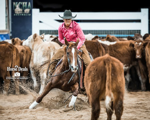 Amelia Servin and 'Lady Too Suen' with 216.50pts beside their name place third in the Non Pro Classic Challenge Final