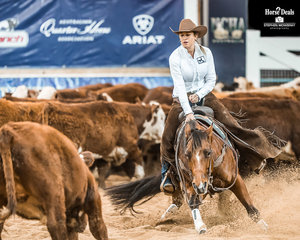 Ashleigh Meagher and 'Tyrell Park Alil Stormy'