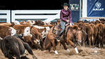 Jade Johnson and 'TP Dancin In The Reyn' in the final of the Non Pro Classic Challenge