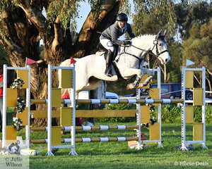Ben Tyson and 'Equineaffair Casanova' were one of just six combinations to finish on their dressage score of the 65 to complete the Off The Track CCI2*-L. They took second place overall.