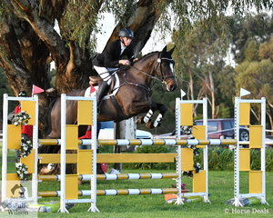 Young Victorian rider, Sam Jeffree has come so close on a number of occasions, but at Werribee over the weekend, Sam nailed the three phases and finishing on his dressage score riding the Alessandro mare, 'Woodmount Lolita' he won the Off The Track CCI2*-L.