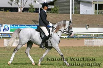 Working out in the Equitation-Ladies/Gents 18yrs & over to be placed 'Cooroora Aheyme' & Jacqueline Richards