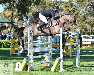 Murray Lamperd and his, 'Sebastian' were one of just three combinations to post a clear round in the final phase of the Horseware Australia CCI3*-L which moved them up the line from tenth to fifth place.