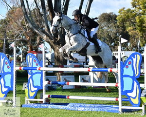 Bianca Sigismundi and her 'Royal Chanel' by High Rail Roll The Dice' took sixth place in the Horseware Australia CCI3*-L.
