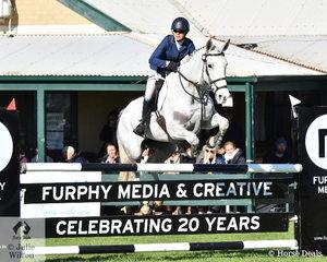 Sarah Clark and 'Aremdale Donn Piatt' took ninth place in the Horseware Australia CCI3*-L .