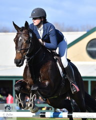 Isabel Haughton and her 'Tulara Diarangol' had a good event and took fourth place in the Horseware Australia CCI3*-L.