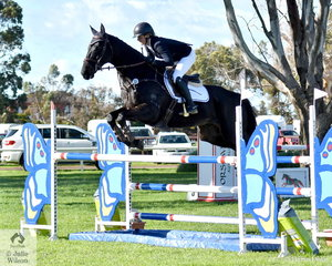 Sophie Fox and her Thoroughbred gelding , 'Mr Pig' by Commands took second place in the Horseware Australia CCI3*-L and were the best performed Off The Track horse.