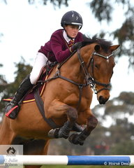 Hayden Parker representing Mercy Regional College rode 'Its Lux Nutro' to win the Level 7 Stars Art. 238.2.1.