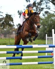 Gemma Denison from Tookak College rode the well performed 'Fosbury Flop' to fifth place in the Level 6 Advanced Art. 238.2.1.