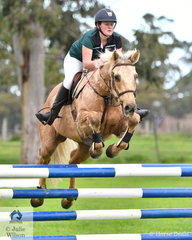 Alice Murray from Gippsland Grammer and her 'FP Outlaw' took second place in the Level 6 Advanced Art. 238.2.1.