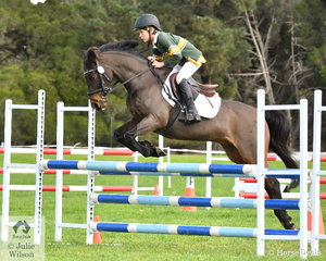 Jack Barker from Firbank Grammer School rode 'Genteel Mischief' to third place in the Level 4 Progressive Grand Prix.