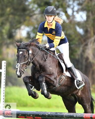 Hannah Gajic from Salesian College rode 'Euston Tenor' to win the Level 3 Improvers Grand Prix.