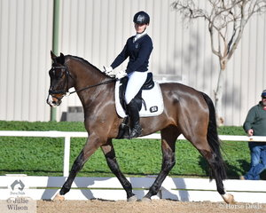 Madison Growcott representing the Chairo Christian  School rode, 'Bzflynn' to second place in the Elementary 3C.