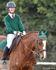 Alice Berry representing the Lara Lake Primary School rode 'Leroy Rogers' to take second place in the Novice Primary 2C.