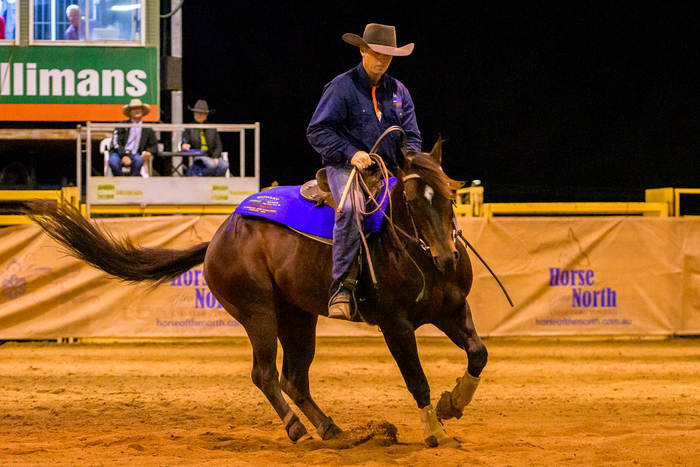 Landmark Open Challenge Champion Nathan Wilson on Royalle Double Your Money (Mel Bethel Photography)