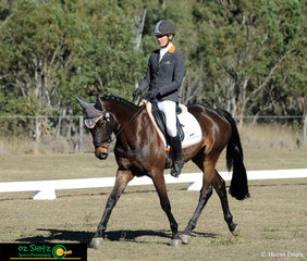 With three rides in the EvA95 class at the Warwick Horse Trials was Mattea Davidson, pictured here with her second nomination, Sandria D.