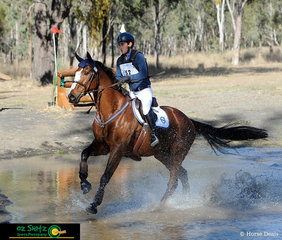 Making their way through the first Two Star water complex was Jedd Johnstone riding Royal Guardsman.