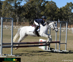 Bronte Forbes-Rohde and Gidgee were one of the combinations competing in the EvA60 class at the Warwick Horse Trials.