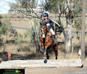 Going over the EvA60 log and the last rider out on course was Lily Murray and Remi Lambada.