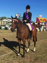 Champion Adult Rider Charlee Anthony