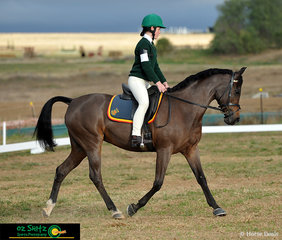 Competing in the Intermediate Preliminary Dressage and making her school proud was Madeline Bell from St Johns College Woodlawn and her horse Kasban Sparkle N Shine.