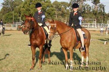 Winning Pair of Intermediate Riders Mycah Anast & Amy Harriman from Stuartholme