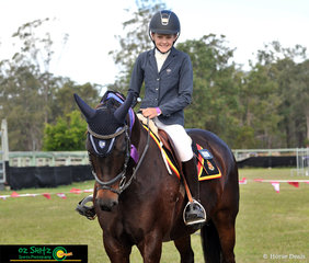 Representing St Andrews Anglican College was Holly Tomkins from Rockhampton, who received a 1st place on her mare Princess Annie and a 6th place on Jaybee Cabaret.