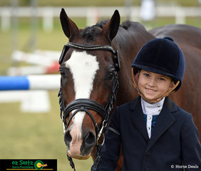 Over the moon with her results over the past 4 days of competition at the 2019 Interschoool State Championships was Tamika Donald Riding Rainbow Lodge Olympc Flame. Her results were as follows; State Champion Primary Preliminary Dressage, State Champion Primary Novice Dressage, Reserve Champion Primary Working Hunter, State Champion 50cm Show Jumping and 4th place Primary 3 Phase Showman riding for Ipswich Junior Grammar School.