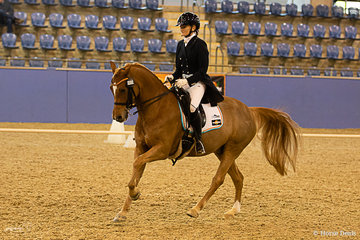 Sydney Evans and Dara Park Tequila Sunrise doing the things they love together in the Intermediate II, placing 2nd with a score of 63.137%