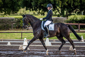 Sophia Redenbach (NSW) and Jermyn Street in the Medium 4C placed 2nd with a score of 69.527%