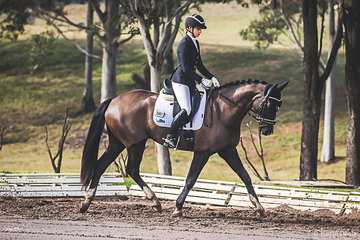 Phoebe Foulkes (SA) and Ellenbrae Jeniro had a good day at the office scoring 73.214% for preliminary 1C and 68.214 for 1B to place 3rd overall in the Preliminary Championship
