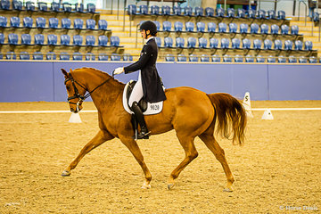 Claire Plenty (NSW) and Queensland in the Grand Prix Freestyle placing a credible third with a final score of 65.533%.