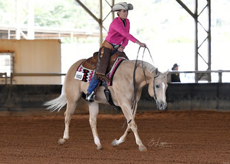 Brianna Miller riding So Good To Be Cool in the Youth Ranch Riding