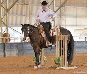 Amazenly Lazy with Kyle Mobberley in the Junior Horse Trail