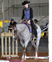 Pucker Up Girlfriend shown by Holly Johnson in 2 Year Old Trail