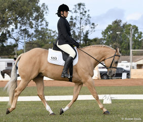 So Good To Be Cool ridden by Biranna Miller in the Youth Dressage Preliminary 1A