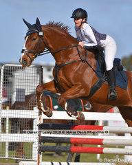 "Jenna Toohey in the Open C Grade riding ""Hayborn Kitty"""
