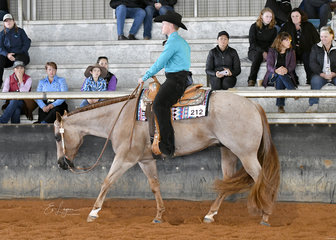 Matt Freiberg Riding Somejust Like To Smooch in Junior Horse Western Pleasure