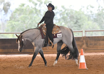 Reach For The Roan with Rosemary Webb, in Select Amateur Horsemanship