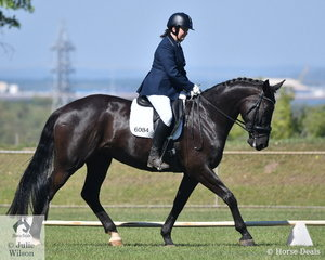 Jodi Triggs rode De Amour to win both the Preliminary 1B and 1C.