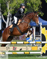Kate Swingler riding Broughton Touch of Class had 4 faults in the 80cm One Round Stakes.